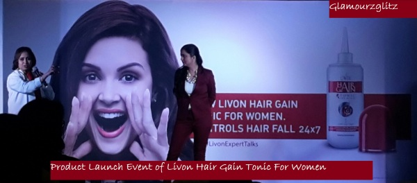 Product Launch Event of Livon Hair Gain Tonic For Women