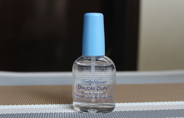 Sally Hansen Double Duty Base And Top Coat Review