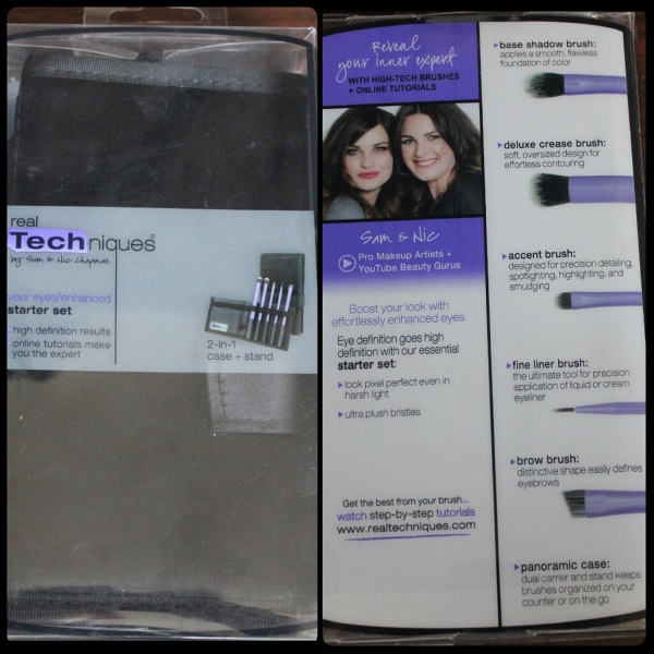 Real Techniques Eyes Starter Kit Review