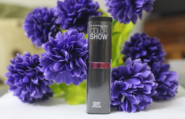 Maybelline Color Show Creamy Matte Lipstick- Pop Of Pink Review