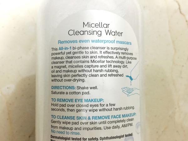 Garnier Micellar Water-5